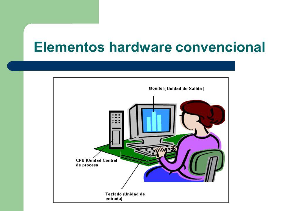 Elementos hardware convencional