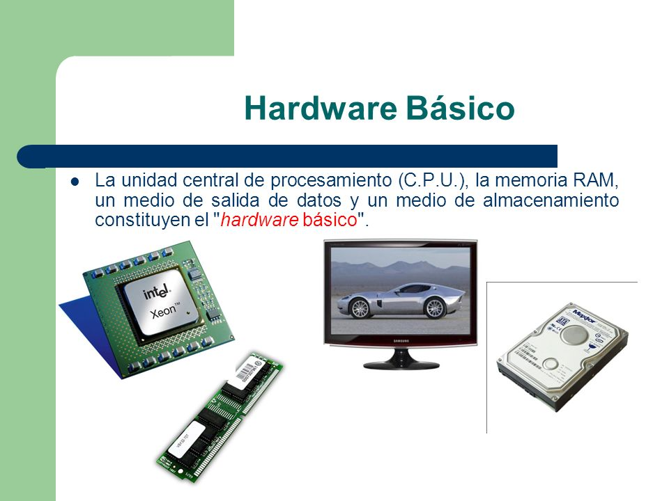 Hardware Básico