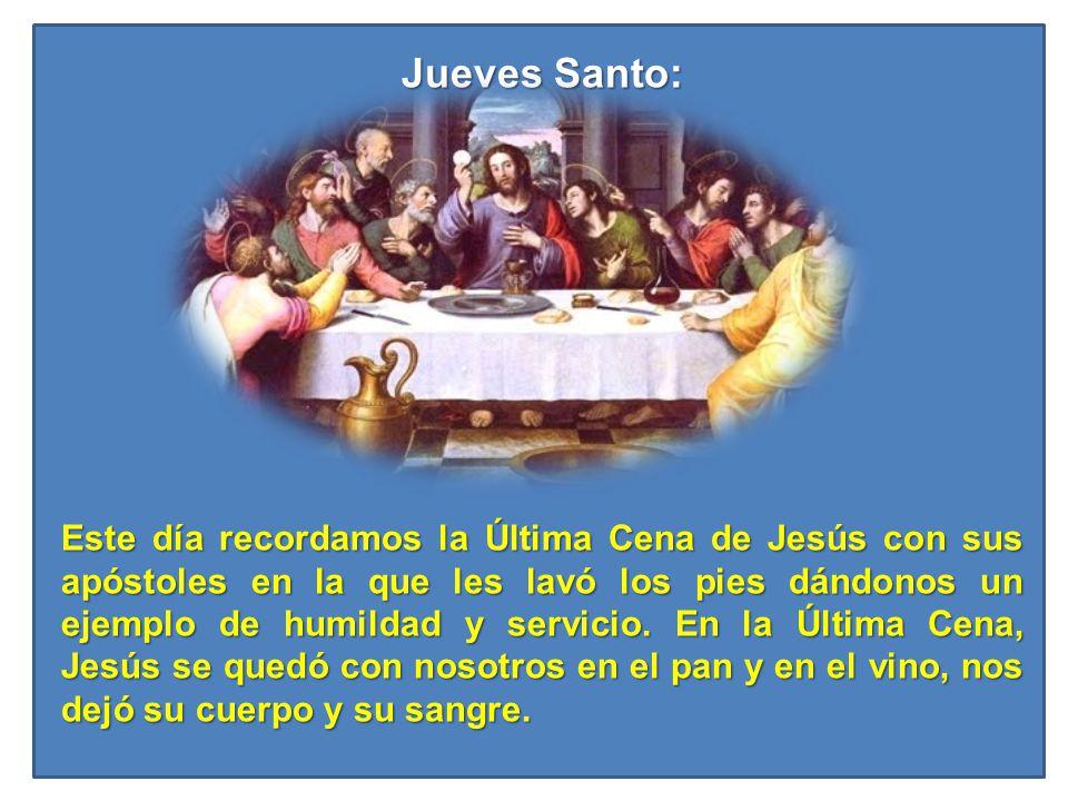 Jueves Santo: