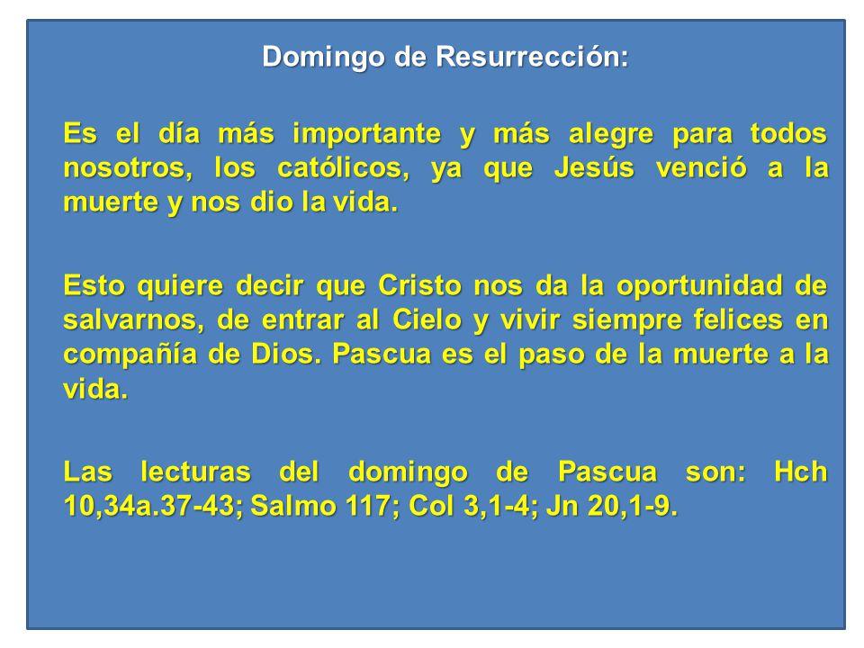 Domingo de Resurrección: