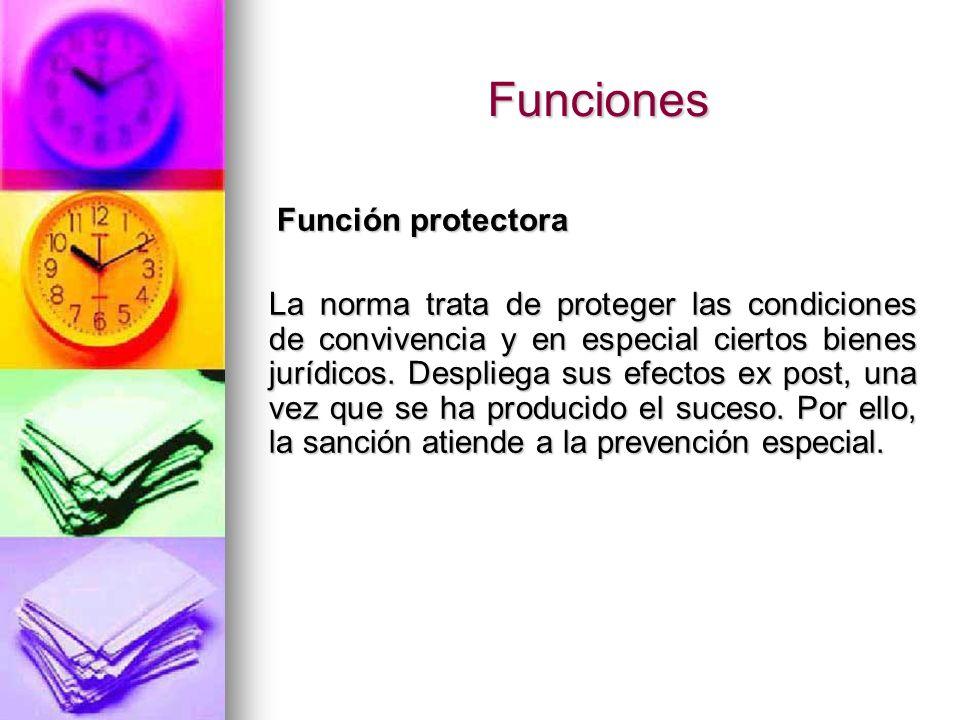 Funciones Función protectora