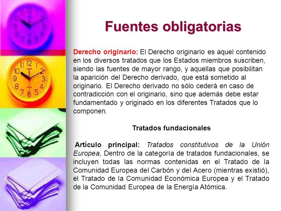 Tratados fundacionales