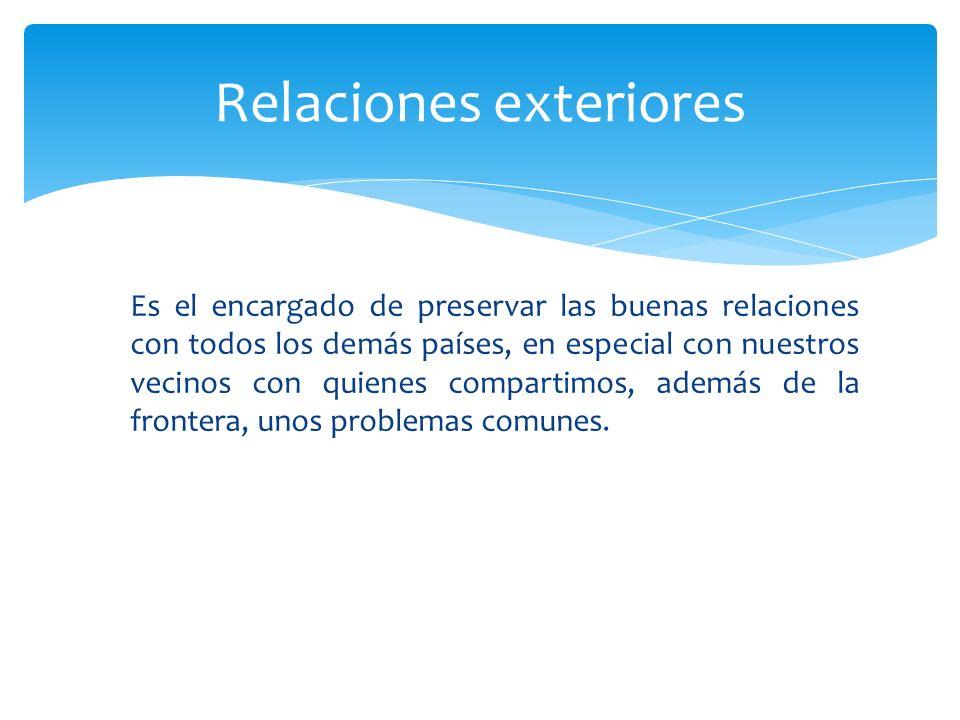 Relaciones exteriores