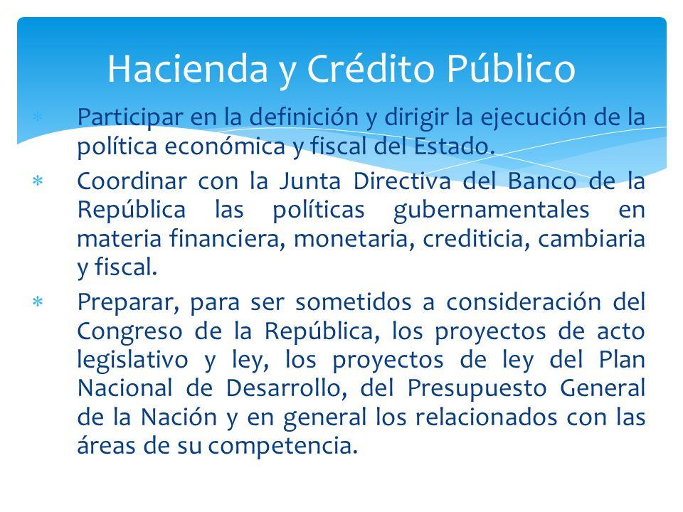 Hacienda y Crédito Público