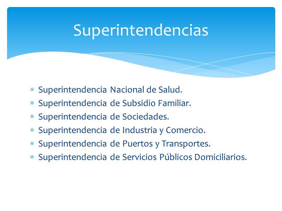 Superintendencias Superintendencia Nacional de Salud.