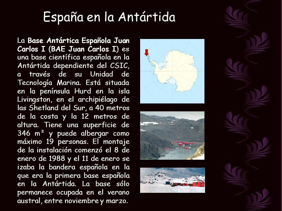 España en la Antártida