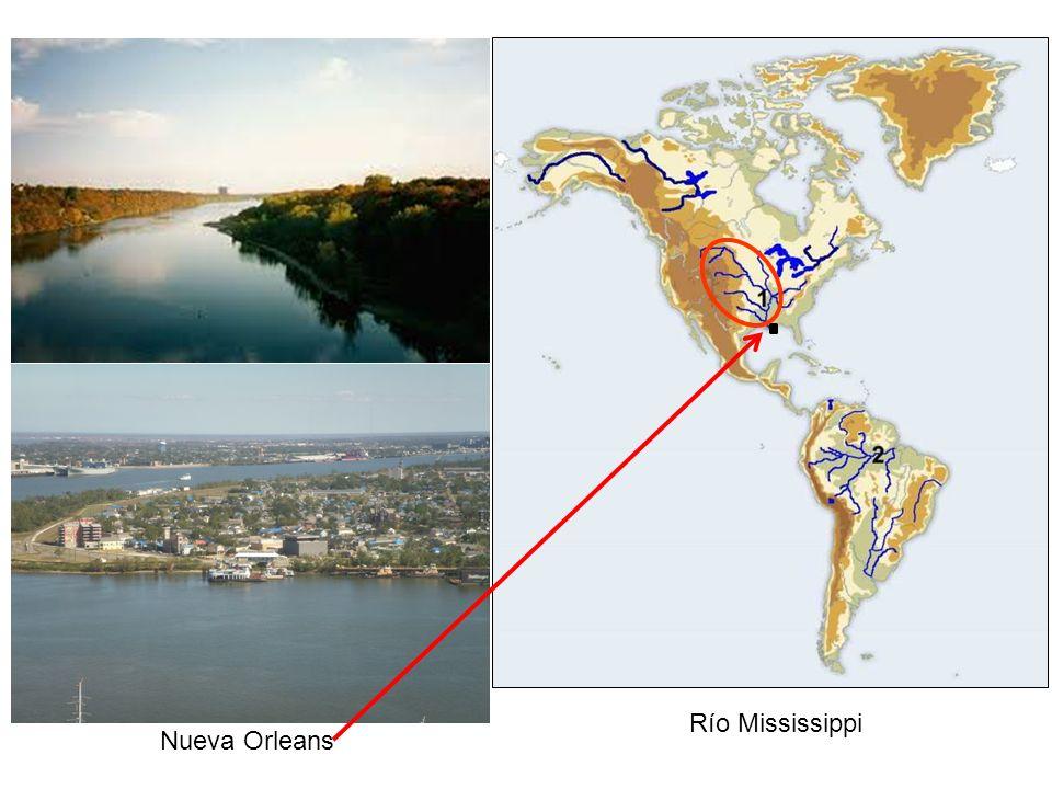 Río Mississippi Nueva Orleans