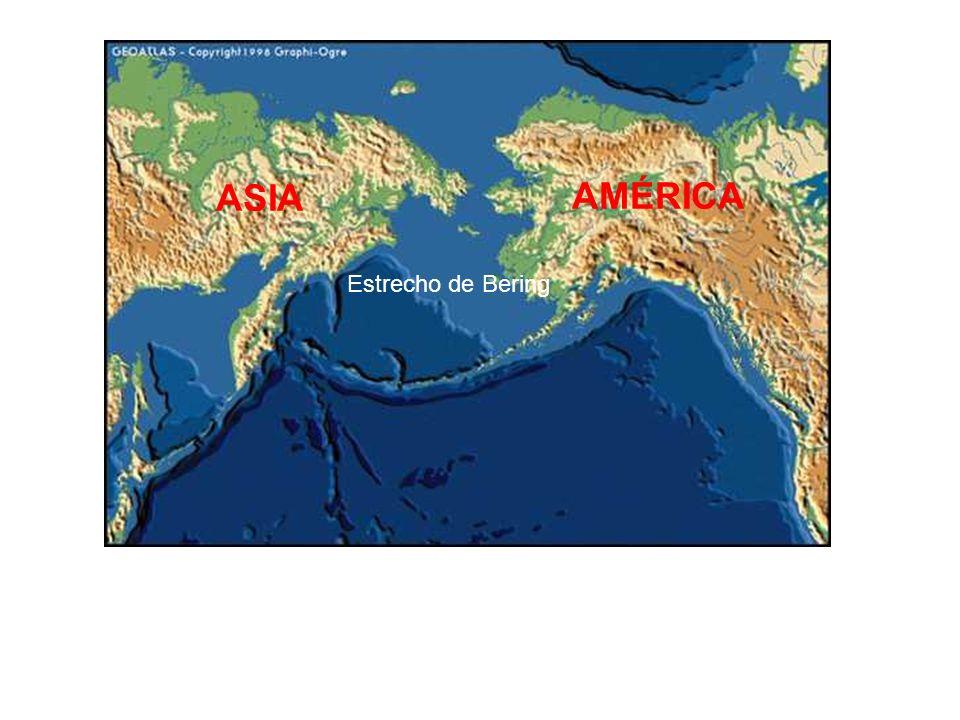 ASIA AMÉRICA Estrecho de Bering