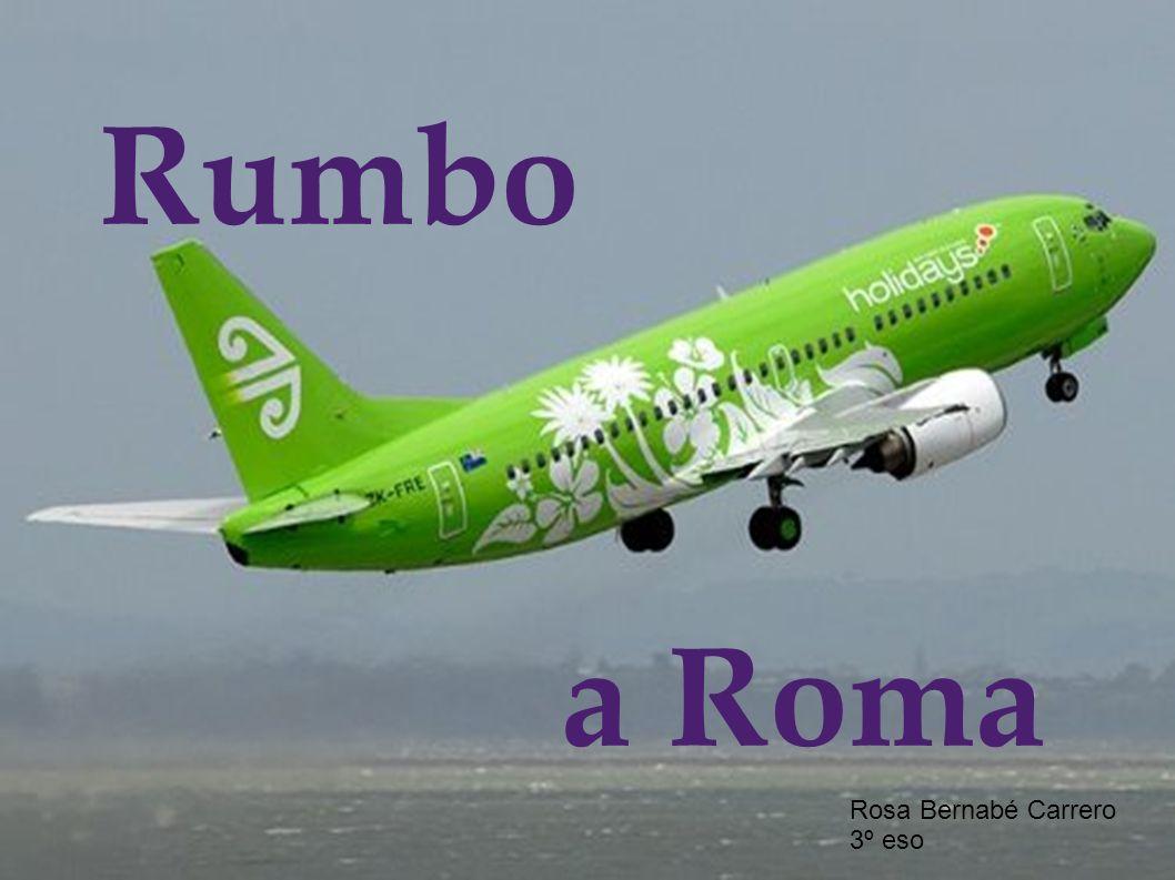 Rumbo a Roma Rosa Bernabé Carrero 3º eso