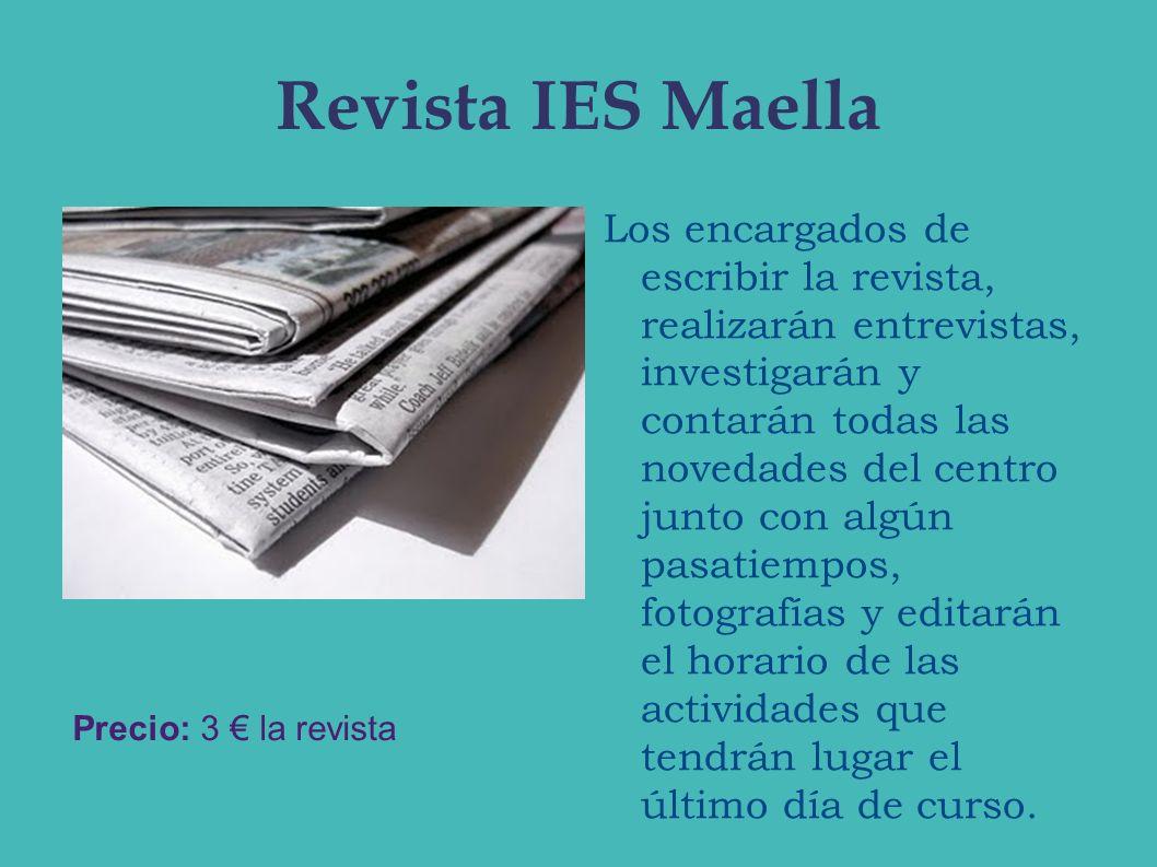 Revista IES Maella
