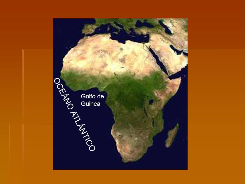 OCEÁNO ATLÁNTICO Golfo de Guinea