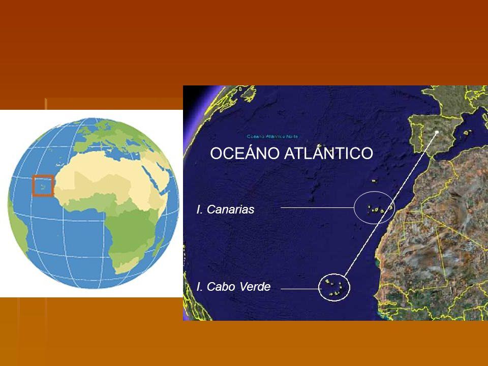 OCEÁNO ATLÁNTICO I. Canarias I. Cabo Verde