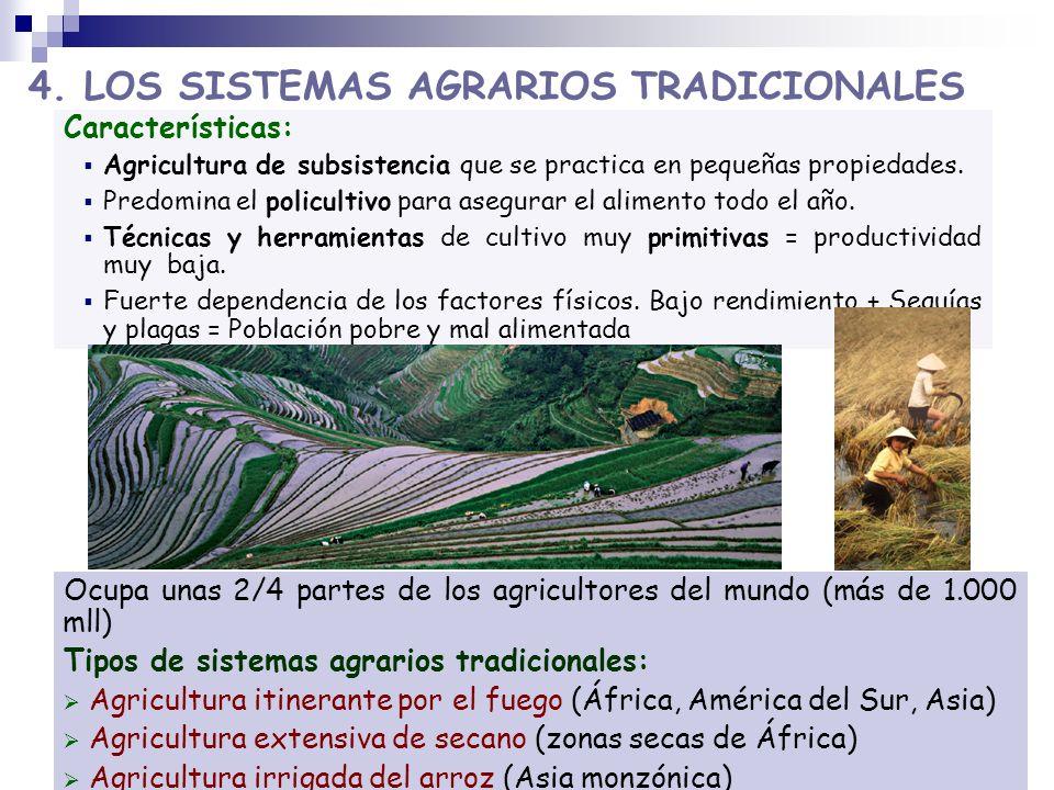 4. LOS SISTEMAS AGRARIOS TRADICIONALES