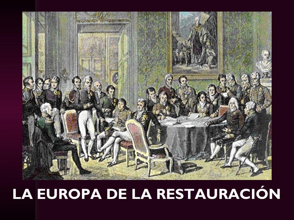 La Europa de la Restauración
