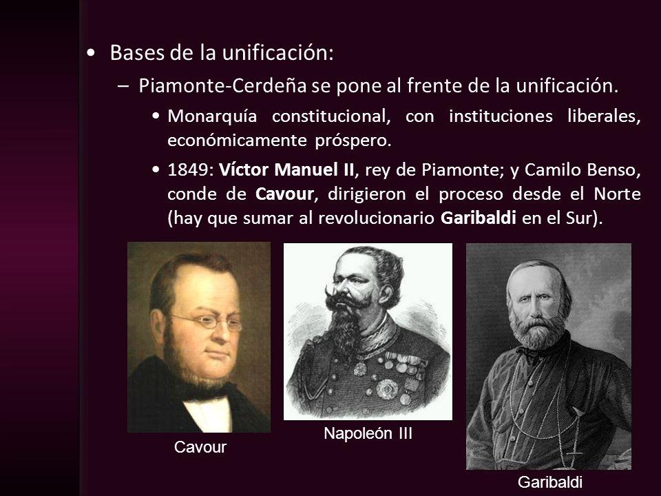 Bases de la unificación: