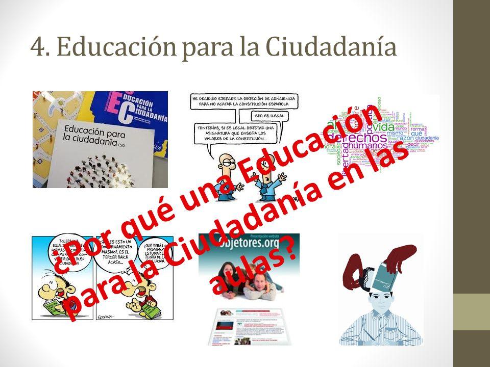 4. Educación para la Ciudadanía