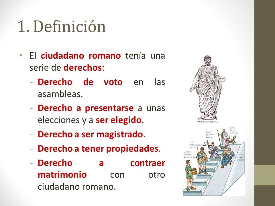 Matrimonio Romano Definicion : Soy un ciudadano ppt video online descargar