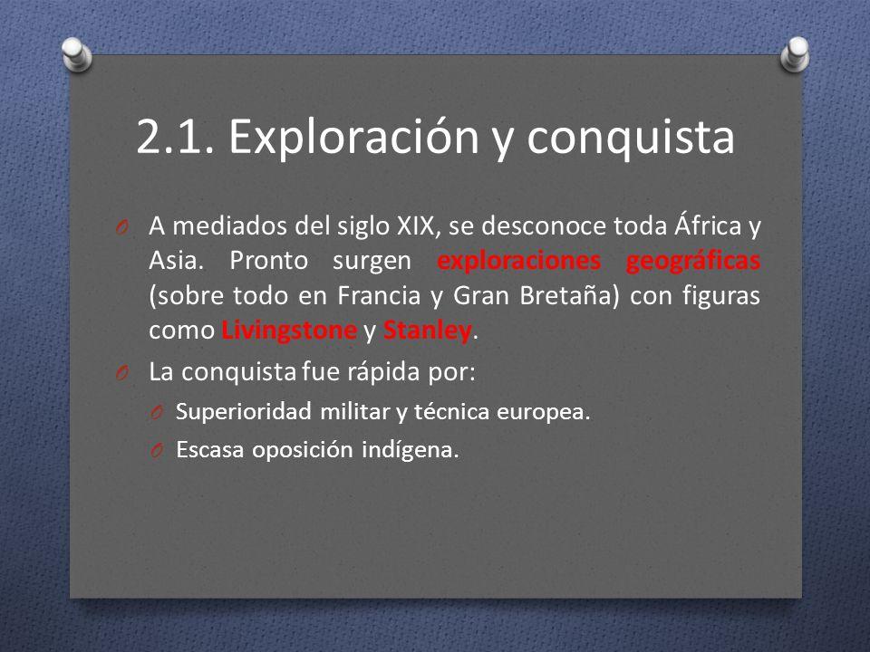 2.1. Exploración y conquista