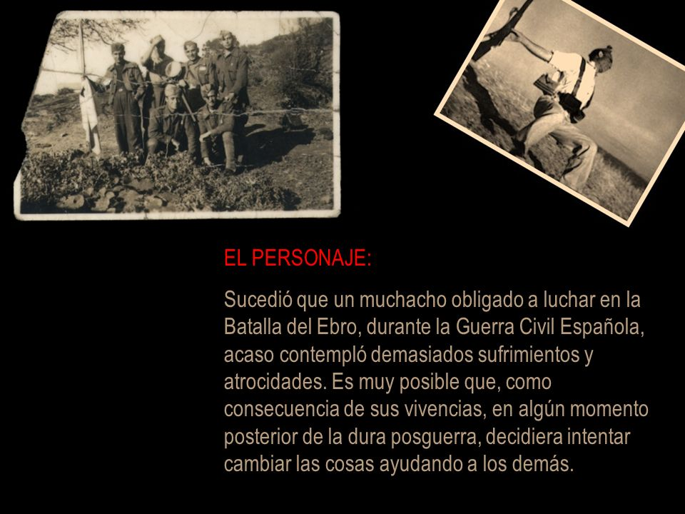 EL PERSONAJE: