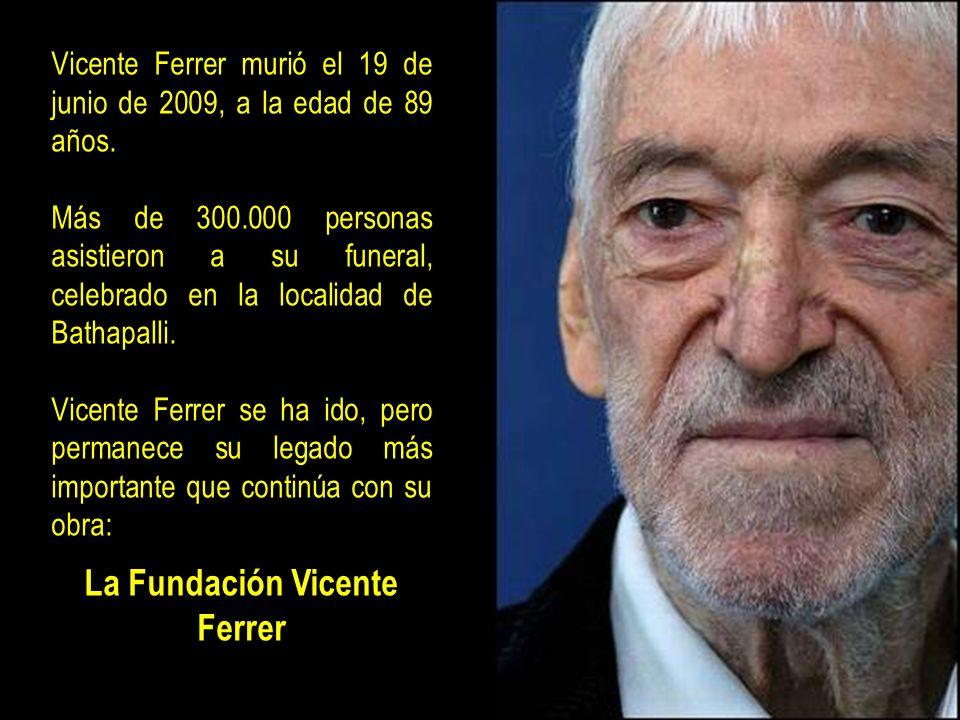 La Fundación Vicente Ferrer