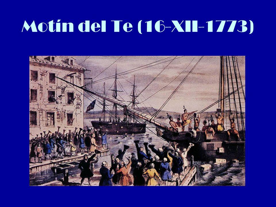 Motín del Te (16-XII-1773)