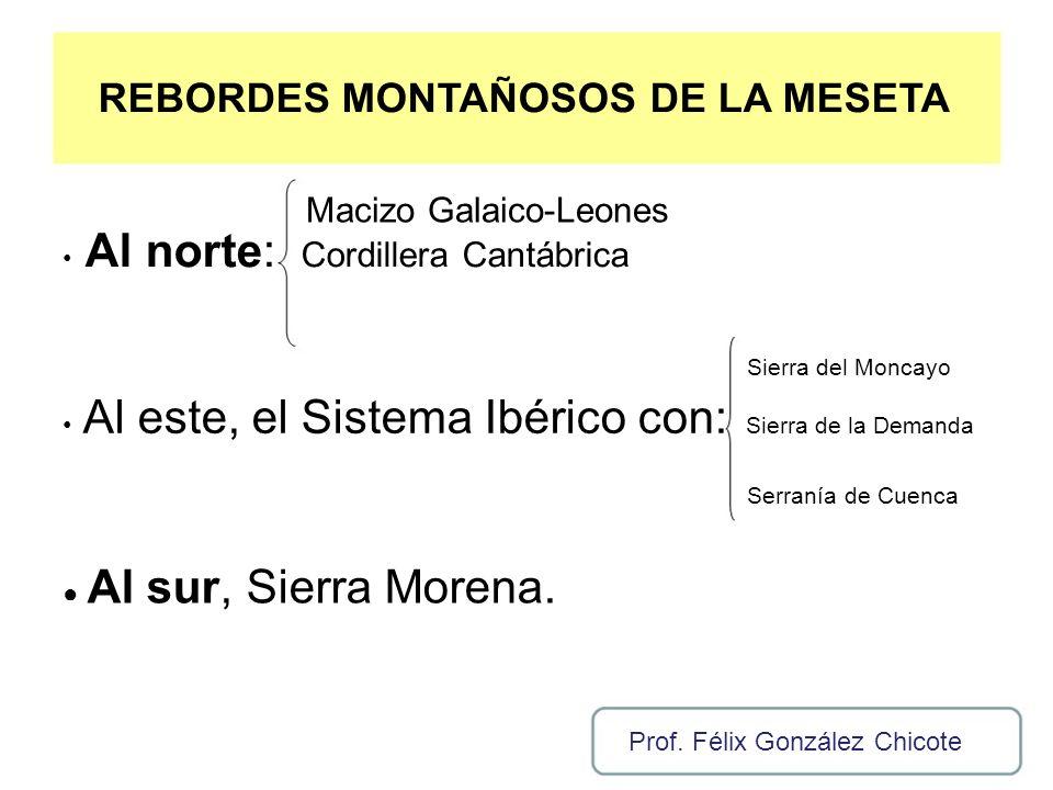 REBORDES MONTAÑOSOS DE LA MESETA