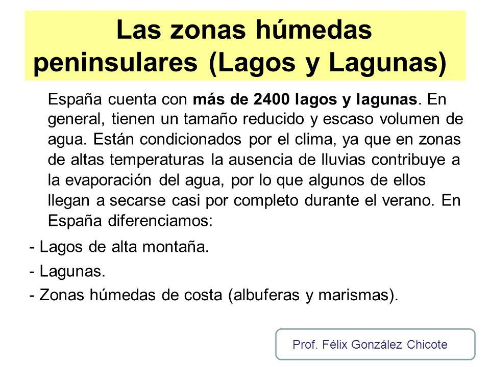 peninsulares (Lagos y Lagunas)
