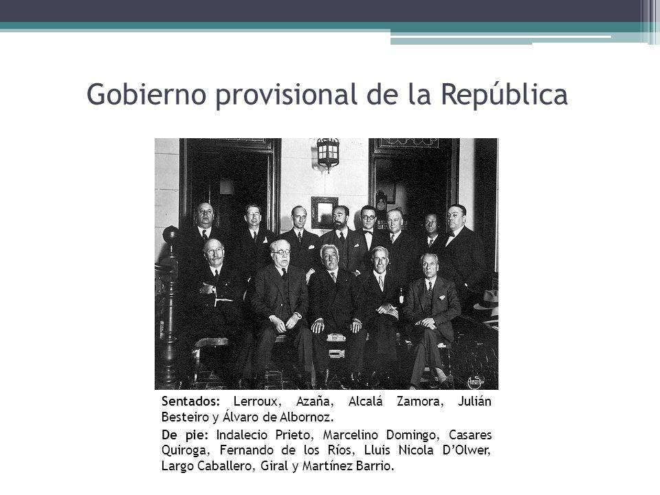 Gobierno provisional de la República