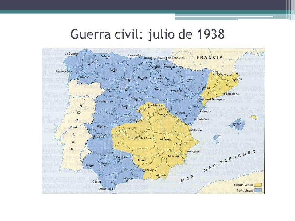 Guerra civil: julio de 1938
