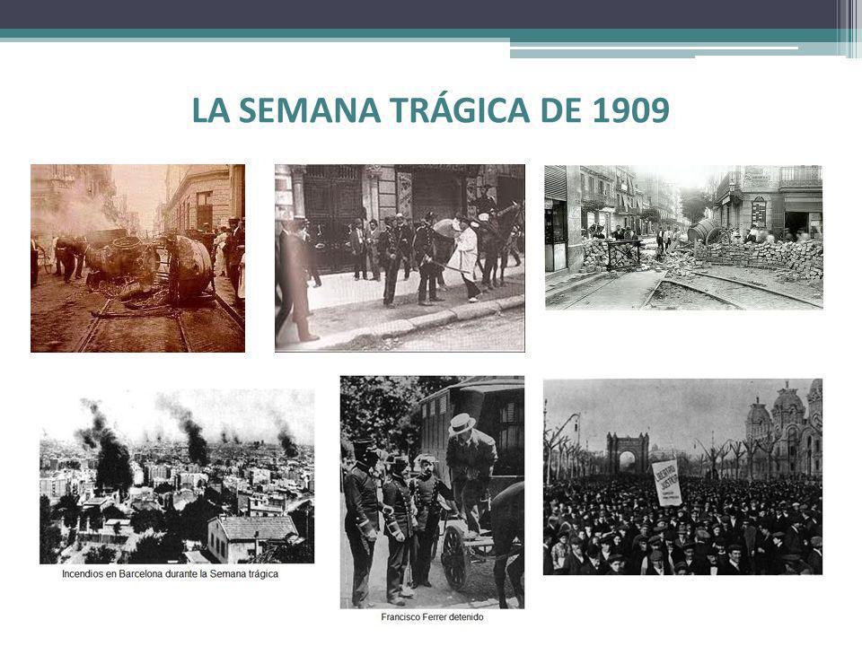 LA SEMANA TRÁGICA DE 1909
