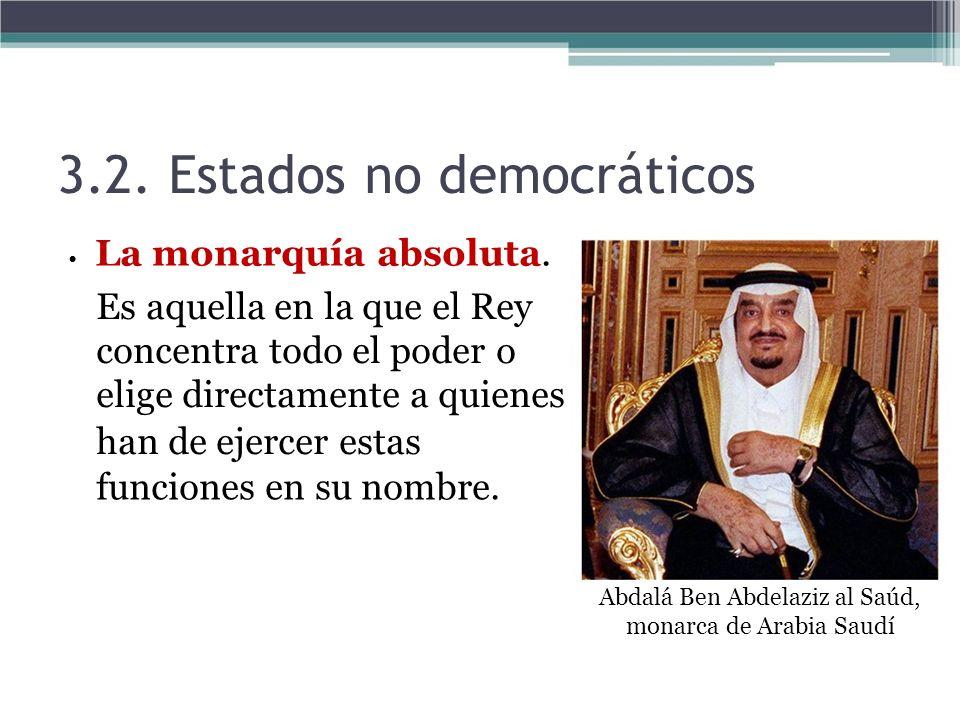 Abdalá Ben Abdelaziz al Saúd, monarca de Arabia Saudí