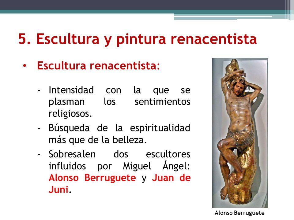 5. Escultura y pintura renacentista