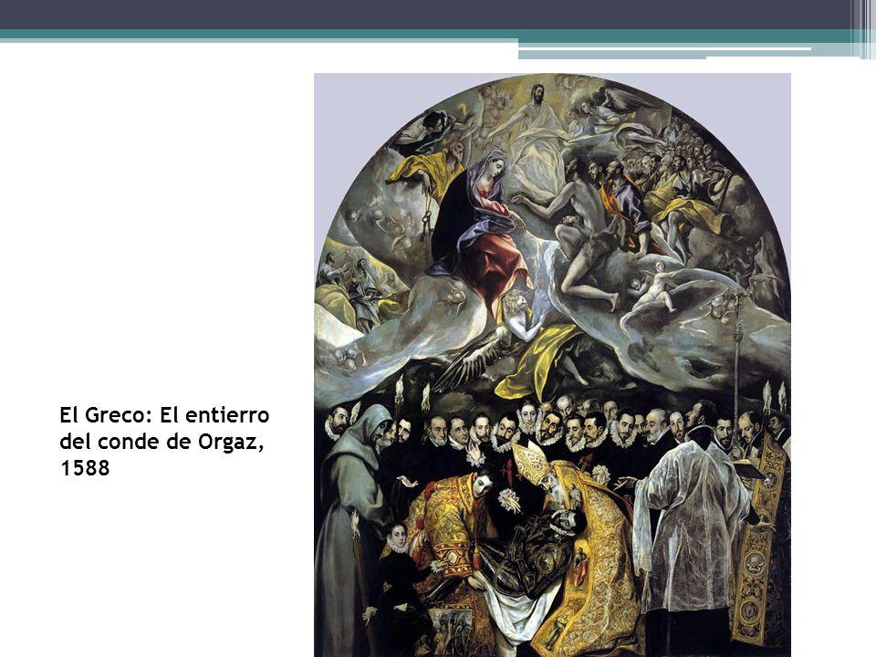 El Greco: El entierro del conde de Orgaz, 1588
