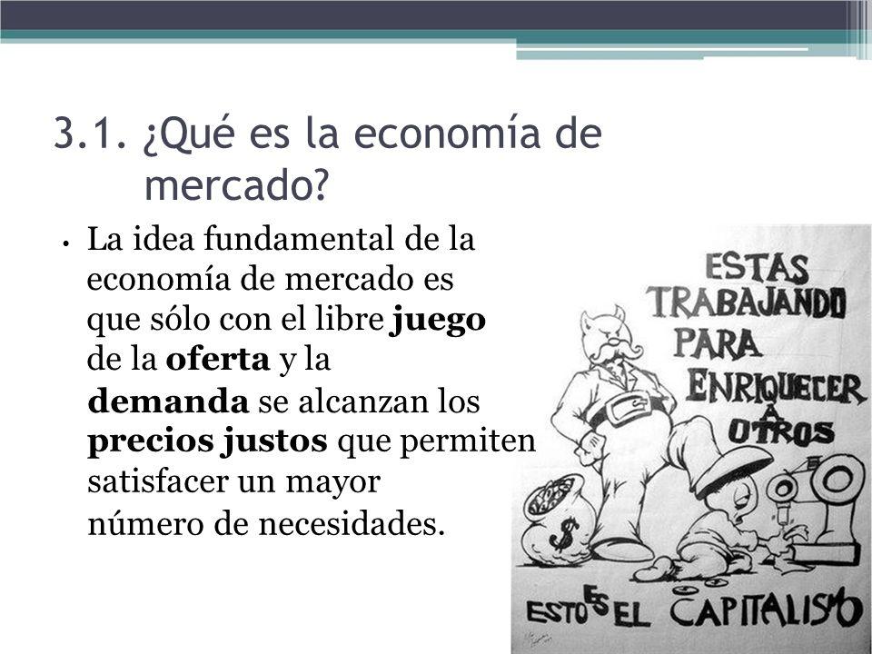 3.1. ¿Qué es la economía de mercado demanda se alcanzan los