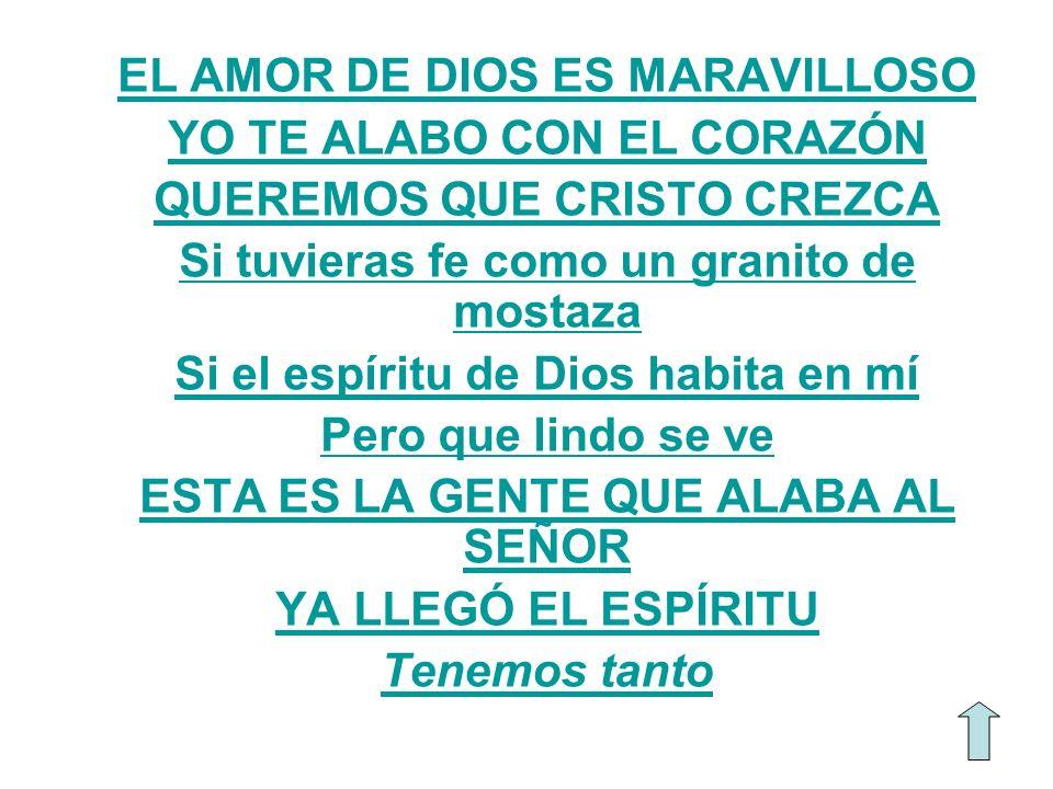 EL AMOR DE DIOS ES MARAVILLOSO YO TE ALABO CON EL CORAZÓN