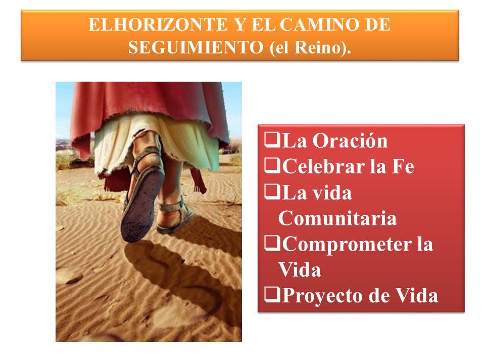 ELHORIZONTE Y EL CAMINO DE SEGUIMIENTO (el Reino).