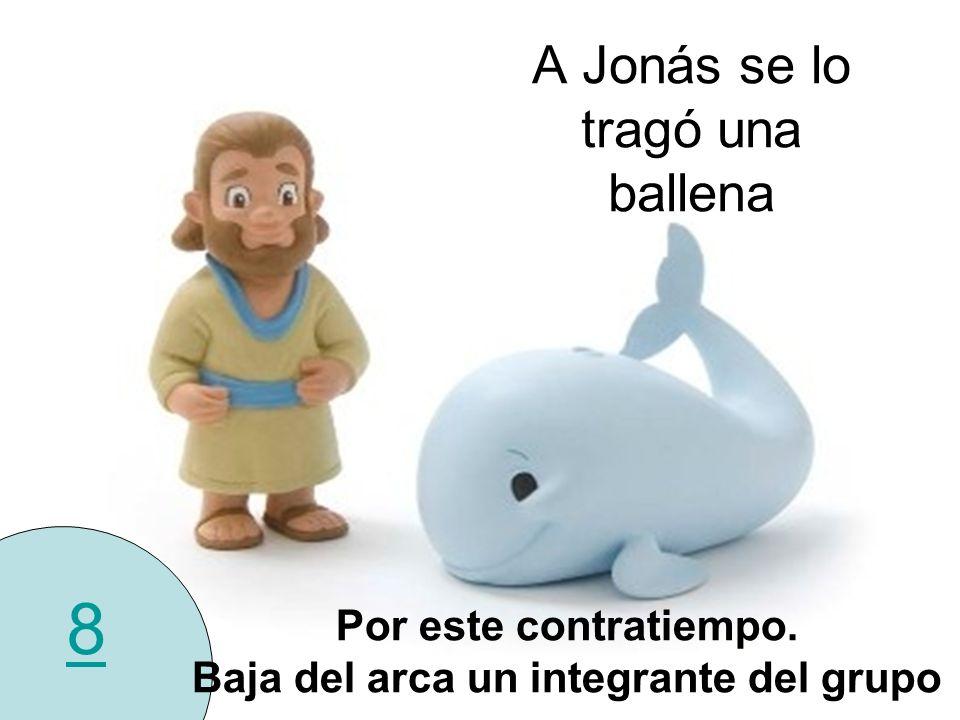 A Jonás se lo tragó una ballena