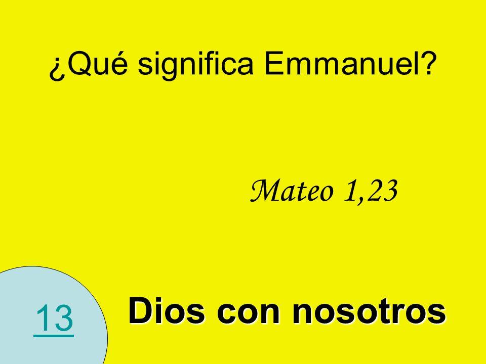 ¿Qué significa Emmanuel