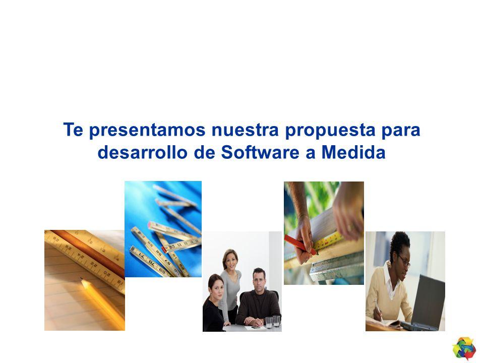 Te presentamos nuestra propuesta para desarrollo de Software a Medida