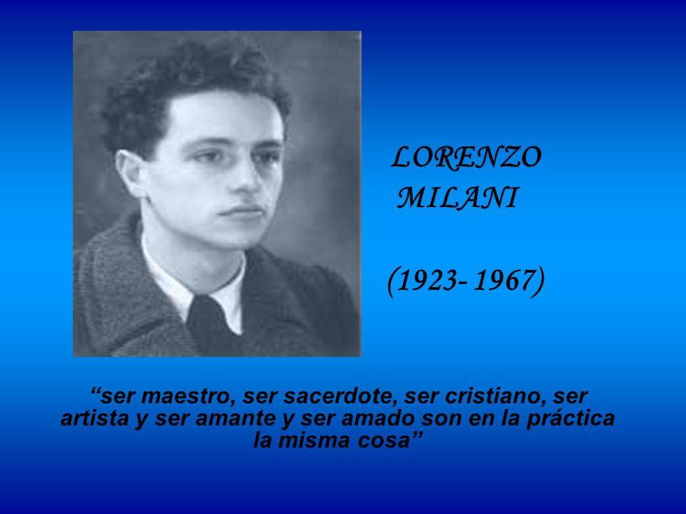 LORENZO MILANI.