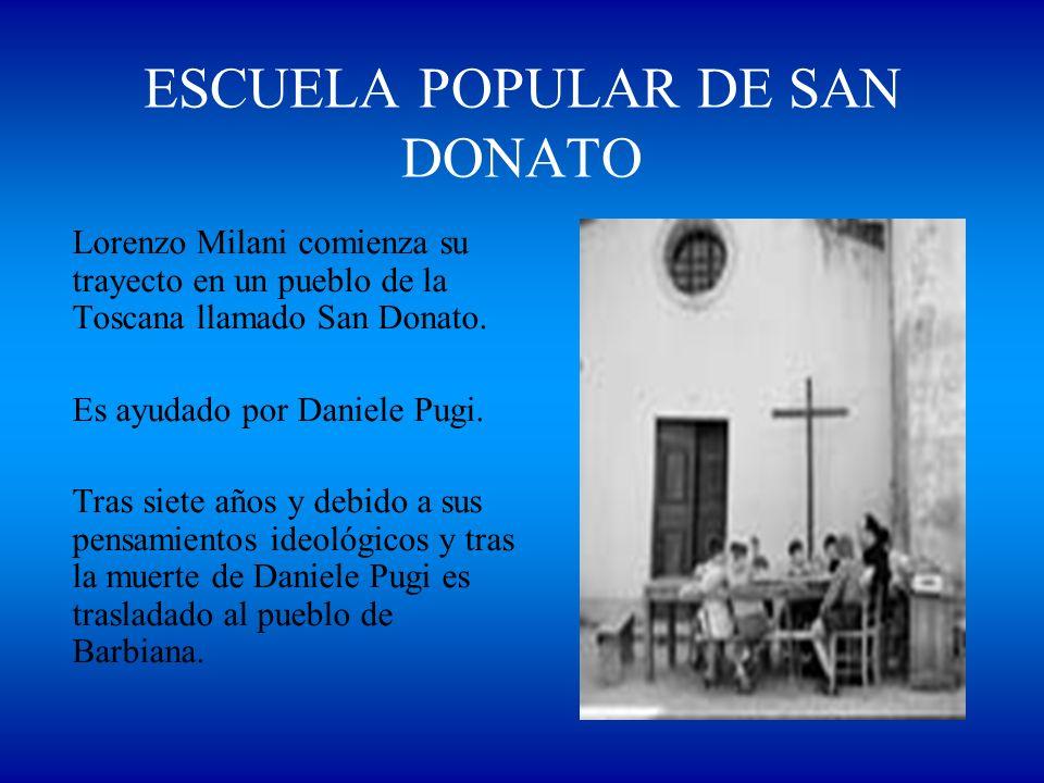 ESCUELA POPULAR DE SAN DONATO