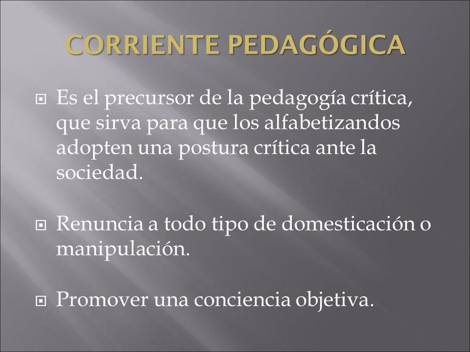 CORRIENTE PEDAGÓGICA