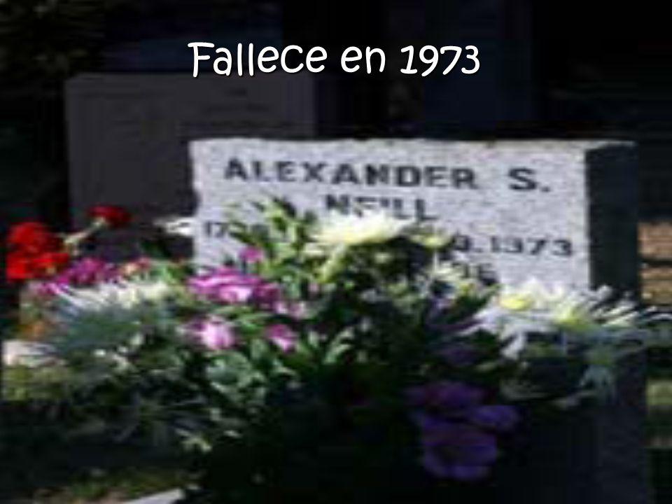 Fallece en 1973