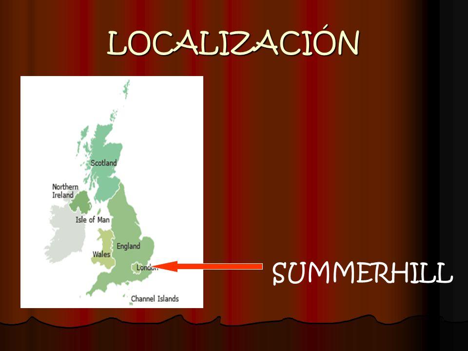 LOCALIZACIÓN SUMMERHILL