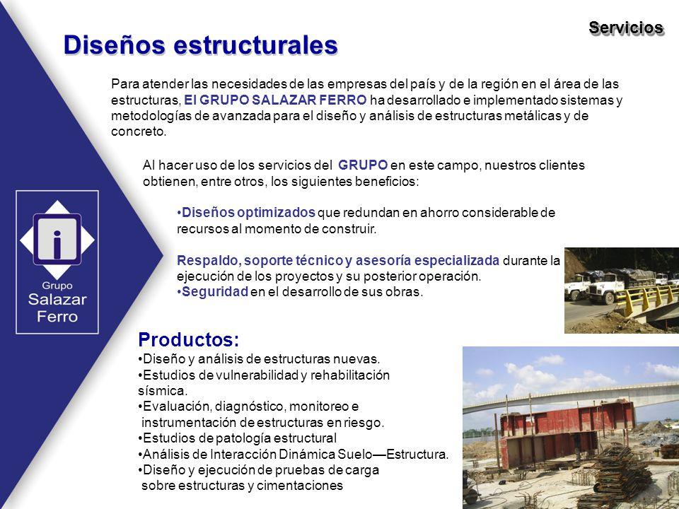 Diseños estructurales