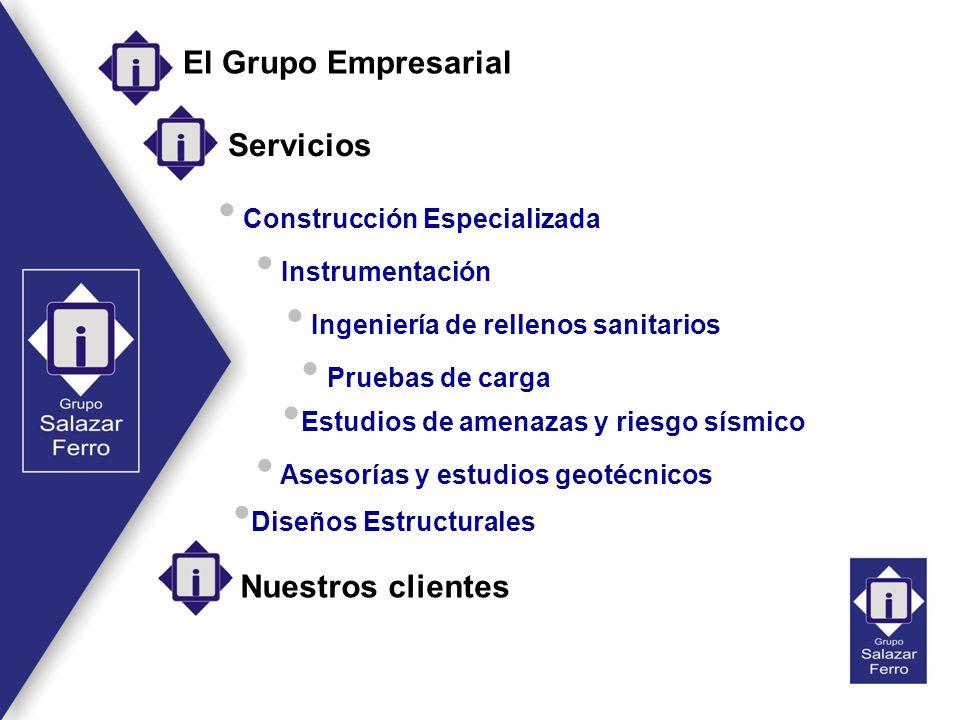 El Grupo Empresarial Servicios Nuestros clientes