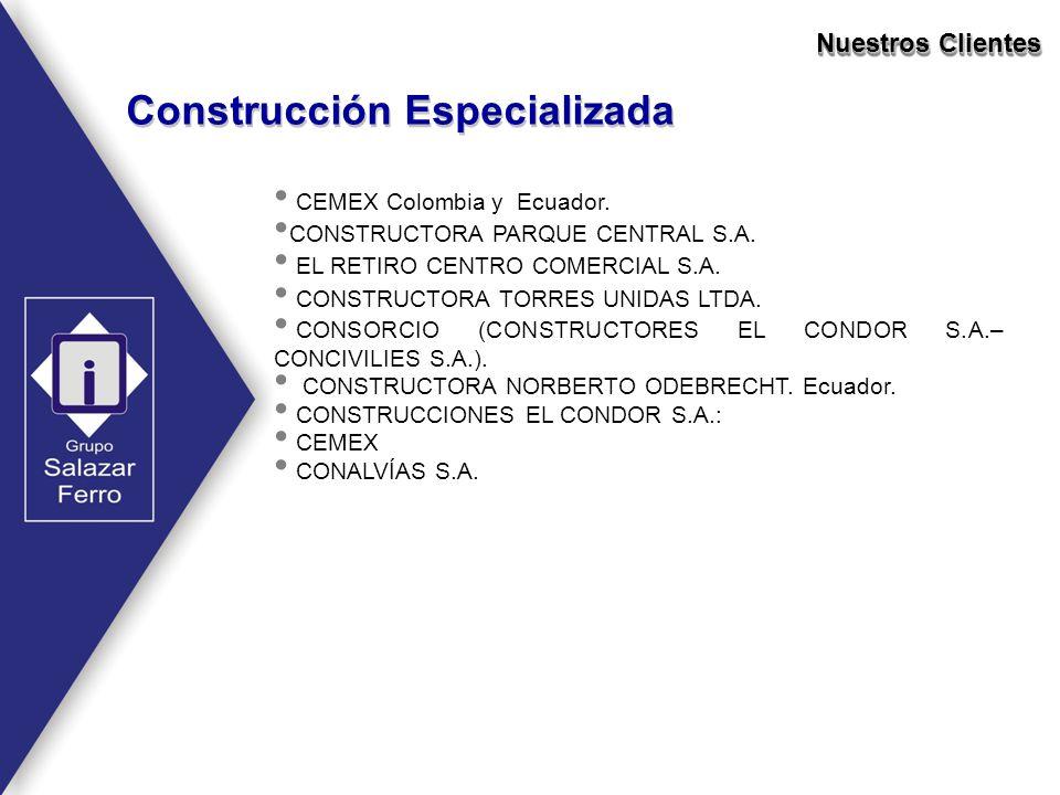 Construcción Especializada