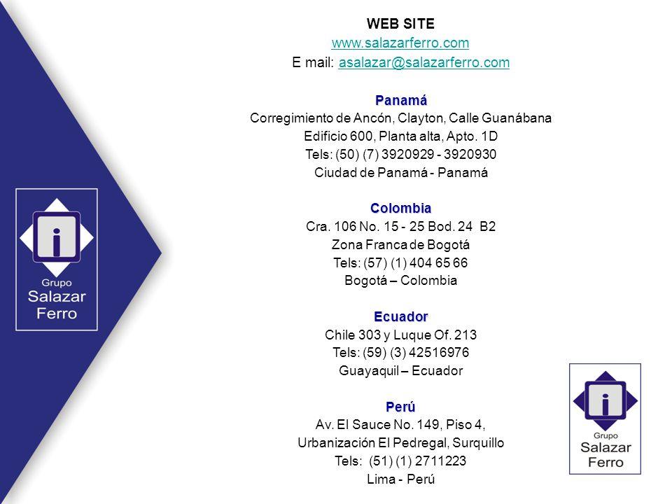 E mail: asalazar@salazarferro.com