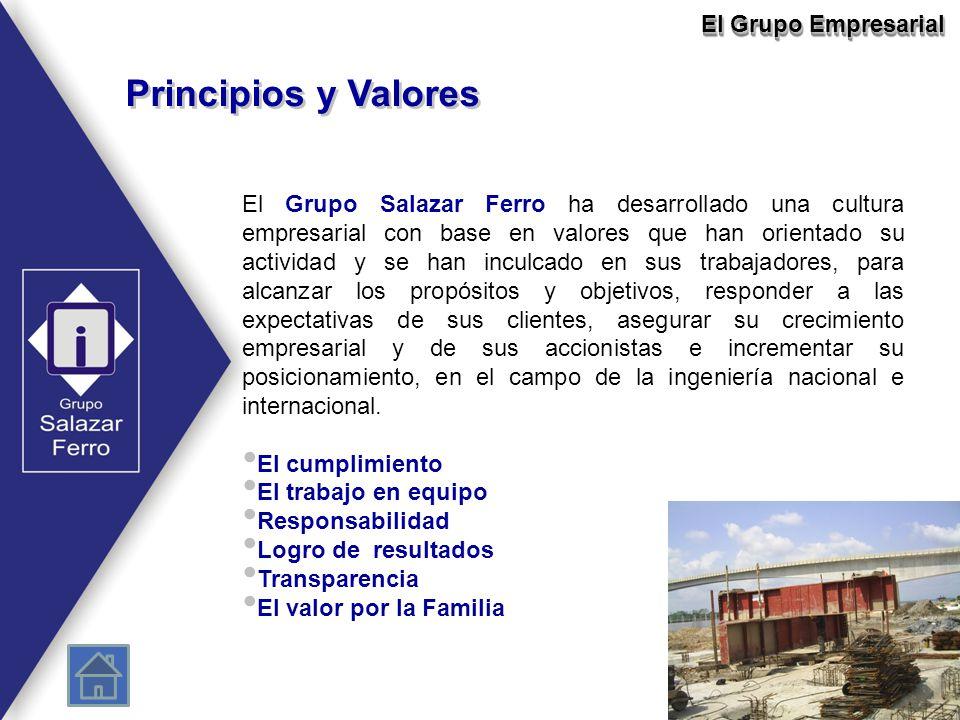 Principios y Valores El Grupo Empresarial