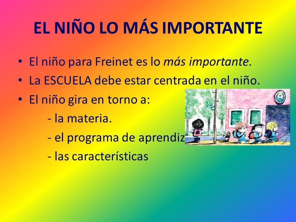 EL NIÑO LO MÁS IMPORTANTE